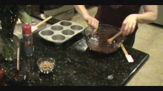 Hot Fudge Brownie Sundae With Caramel Cream Cheese Swirl 2010.wmv