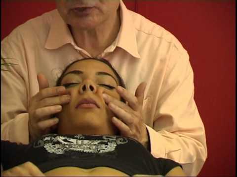 sinusitis: massage and treatment