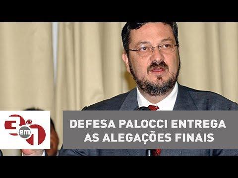 Defesa Palocci Entrega As Alegações Finais E Pede Absolvição Das Acusações Do Petista