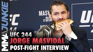 UFC 244: Jorge Masvidal post fight interview