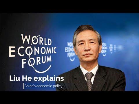 Live: Liu He explains China's economic policy刘鹤出席达沃斯世界经济论坛2018年年会