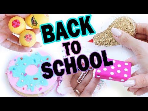 DIY Back To School 2017 * Бюджетная канцелярия * Bubenitta