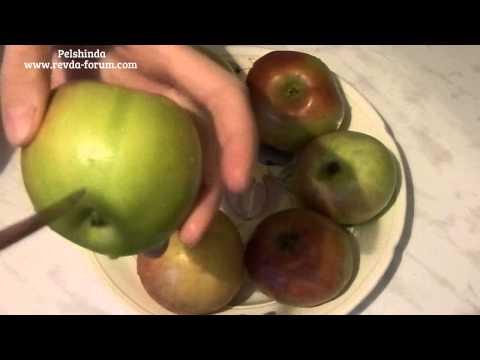 Как запечь яблоки в микроволновке целиком