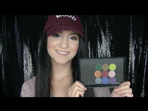 NEW MAKEUP GEEK FOILED EYESHADOW EXPANSION SET 2016 | SWATCHES & COMPARISONS TO OLDER SHADES!!!