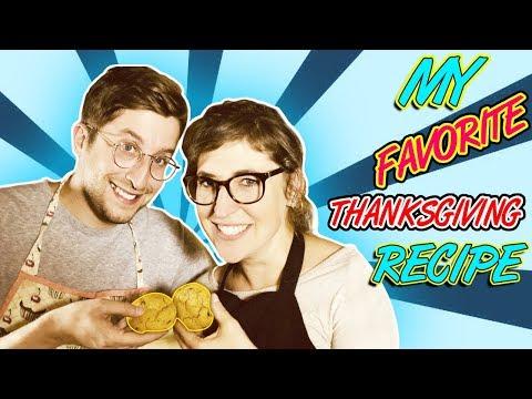 My Favorite Thanksgiving Recipe || Mayim Bialik