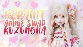 ☽ Moonlight Jewel ☾ Anime Swap Repaint Kuzunoha the Kitsune Girl