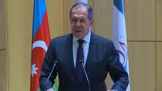 Выступление С.Лаврова в Азербайджанской Дипакадемии