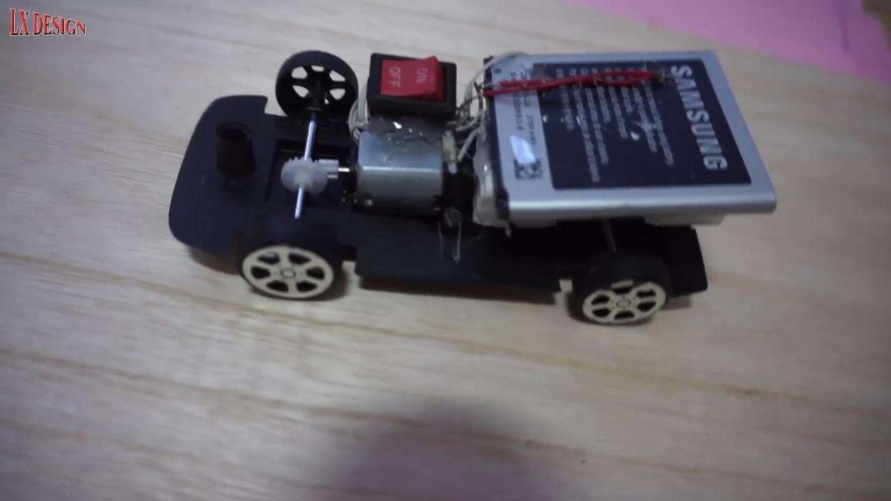 How To Make A Mini Electric Car SUPER FAST   Diy Electric Car At Home