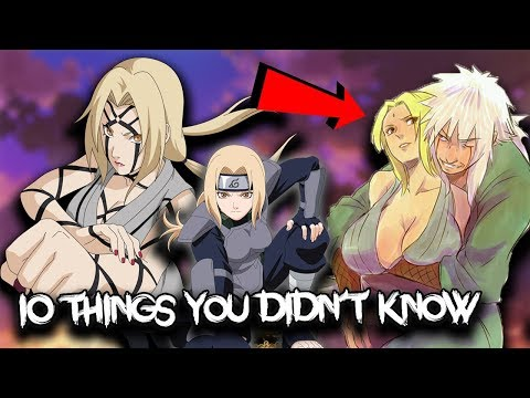 10 Things You Didn't Know About Tsunade Senju