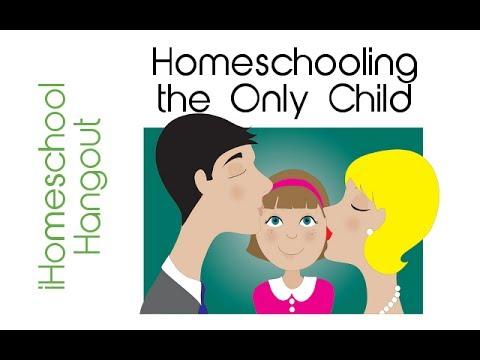 Homeschooling the Only Child - an iHomeschool Hangout on Air