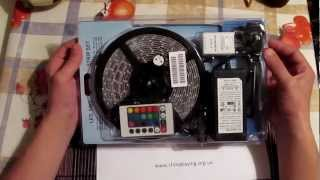 Обзор SMD LED RGB ленты на светодиодах 3528