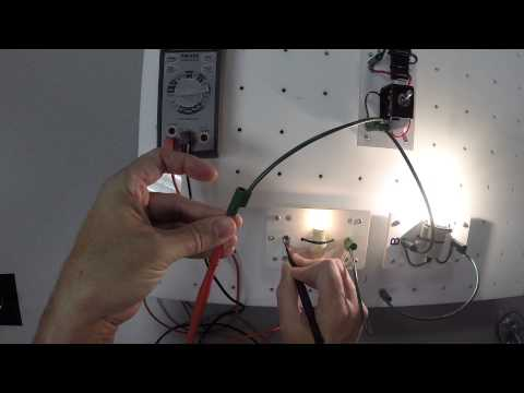 Using an Ammeter with a Parallel Circuit