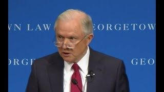 Attorney General Jeff Sessions gives EXPLOSIVE Speech on FREE SPEECH in College Campuses Free HD Video