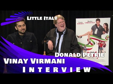 LITTLE ITALY - VINAY VIRMANI & DONALD PETRIE INTERVIEW Mp3