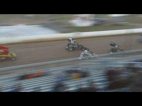 Port Royal Speedway 410 Sprint Car Highlights 4/04/09-RE