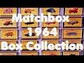 Lesney Matchbox – 1964 Catalog Line Boxes - Video No.165 – November 4th, 2016