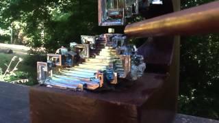Diamagnetic Bismuth Crystal Levitation  Tibetan Sound