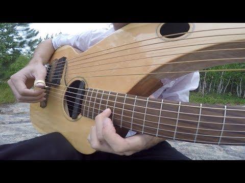 Comfortably Numb - Pink Floyd - Instrumental Harp Guitar/Electric (end solo) - Jamie Dupuis