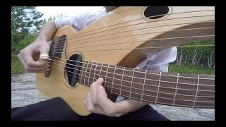 Comfortably Numb - Pink Floyd - Instrumental Harp Guitar/Electric (end solo) - Jamie Dupuis