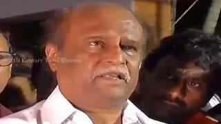 Rajinikanth Paying Homage To Director K Balachander | K Balachander passes away (1930 – 2014)