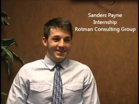 Internship Experience with Financial Advisor at Rotman Consulting Group