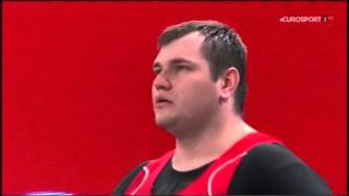 2015 World Weightlifting +105 kg Group A Highlights