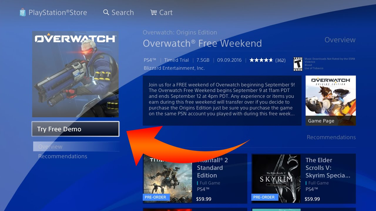 Free Overwatch Weekend! PS4/Xbox