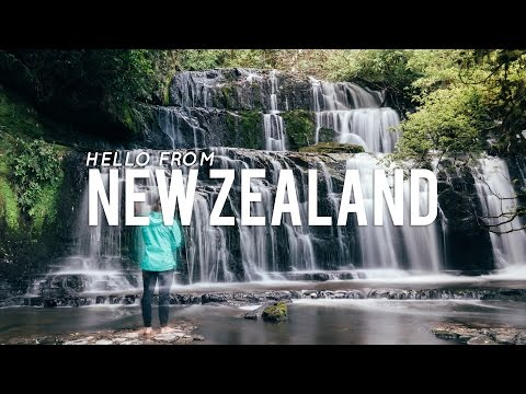 Hello from New Zealand