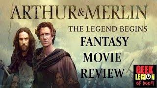 ARTHUR & MERLIN : THE LEGEND BEGINS ( 2015 ) Fantasy Movie Review