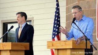 Kansas Gubernatorial Debate, Brownback vs. Davis, Sept. 6, 2014, Kansas State Fair