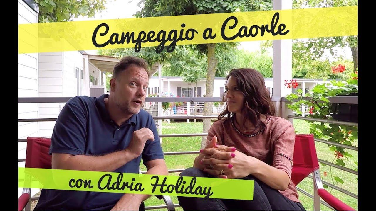 Campeggio a Caorle in casa mobile Adria Holiday al Villaggio San Francesco