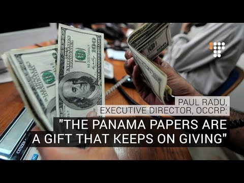 """""""Panama Papers is a gift that keeps on giving,"""" – Paul Radu, OCCRP"""