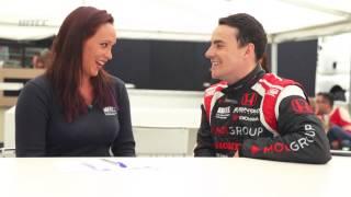 Alexandra Legouix learns Hungarian from WTCC star Norbie Michelisz