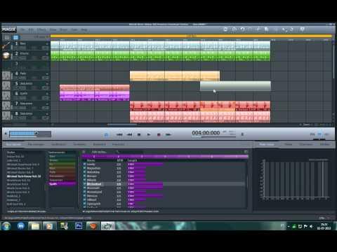 Como fazer uma boa música a nivel profissional no Magix Music Maker?