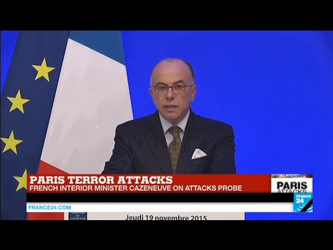 Paris Attacks: Interior minister shares latest developments in ongoing investigation