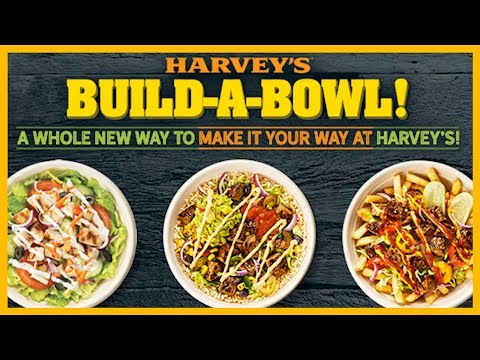 Harvey's NEW Build-A-Bowl #BuildABowl