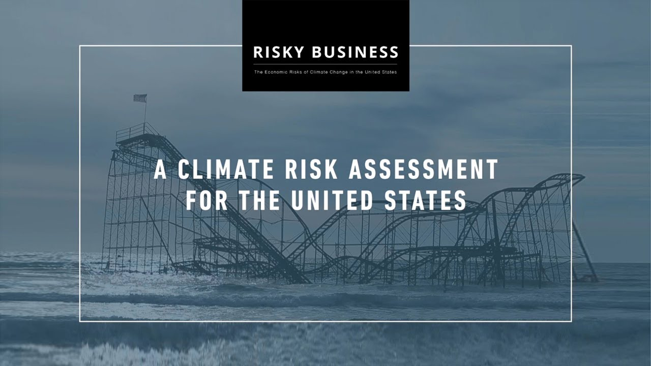 Risky business report on climate change