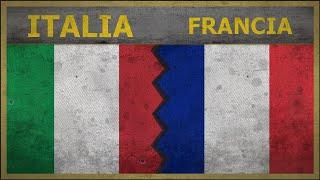 Eserciti a confronto: ITALIA vs FRANCIA | 2018 (CALCIO)