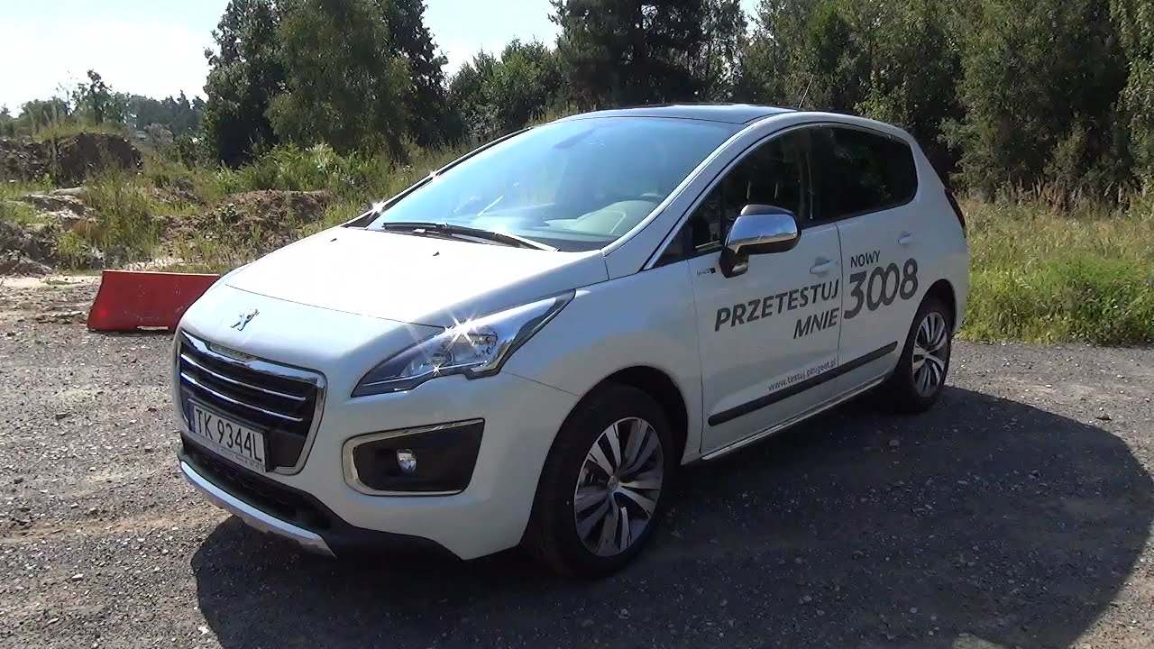 pl 2014 peugeot 3008 1 6 hdi 115 km test pl prezentacja walkaround youtube. Black Bedroom Furniture Sets. Home Design Ideas