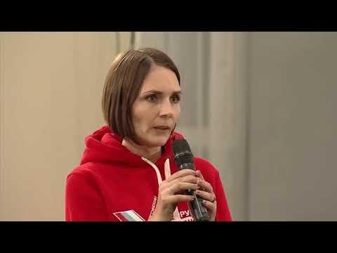Корреспондент «Вперёд» Полина Калашникова задала вопрос Путину о школьном питании