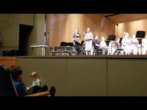Alma Middle School 7th grade band 2019