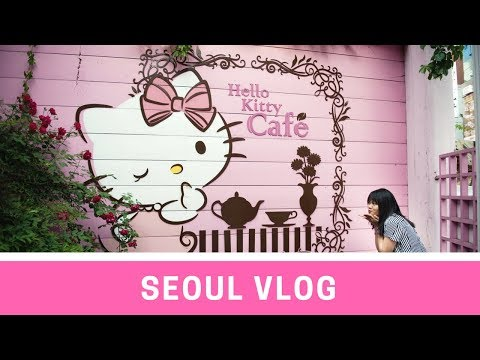 Hello Kitty Café - Seoul Korea VLOG