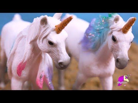 Sea Star Unicorn ! Schleich Horse Summer Video Series Part 5