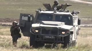 Учение со спецназом по отражению нападения диверсантов на маневрах «Восток-2018»