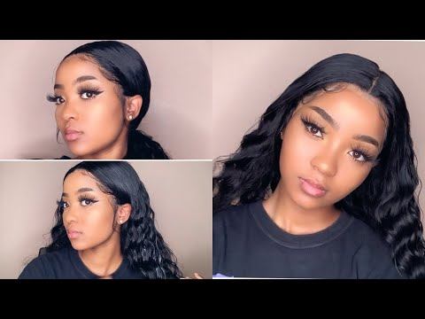 HOW TO: INSTALLING 13X6 LACE FRONTAL WIG FOR BEGINNERS FT WIGGINS HAIR