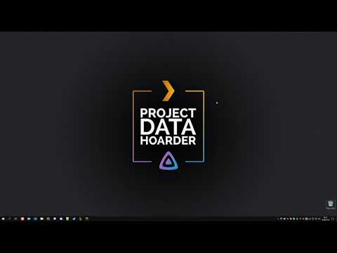 Project Data Hoarder server tour - YouTube
