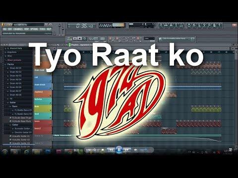 Tyo Raat ko ( 1974AD )   Track for Karaoke   FL Studio