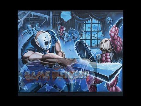 Gamer Art: Splatterhouse Oil Painting
