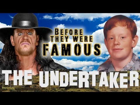 THE UNDERTAKER - Before They Were Famous - Mark Calaway