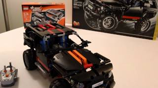 hd power functions lego technic extreme cruiser 8081 rc fully motorized